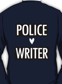 Castle - Police/Writer T-Shirt