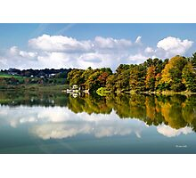 New York Cincinnatus Lake Photographic Print
