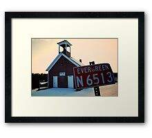 Evergreen N 6513 Framed Print