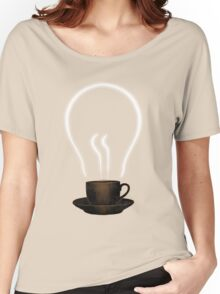 The power of coffee Women's Relaxed Fit T-Shirt