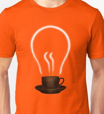 The power of coffee Unisex T-Shirt