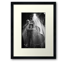 Swing to the beat Framed Print