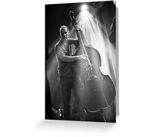 Swing to the beat Greeting Card