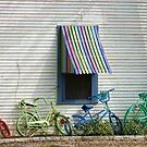 Bicycle Rainbow by Susan Russell
