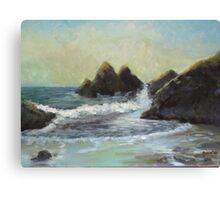 Impressionist Beach Study #4 Canvas Print