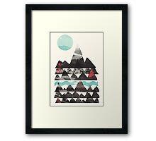 Ascend... Framed Print