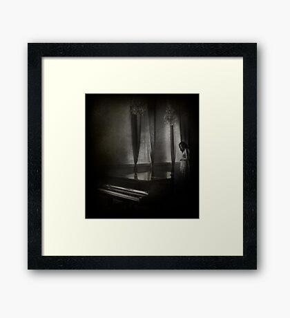 Play for me our songs Framed Print