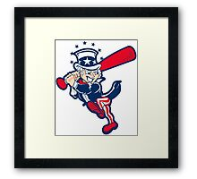 Yankee Uncle Sam Framed Print
