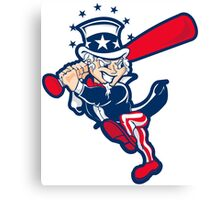 Yankee Uncle Sam Canvas Print