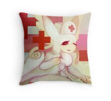 Pokemon: Mega Audino, let me heal you Throw Pillow