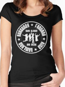 Anchorman, Ramones Style ! Women's Fitted Scoop T-Shirt