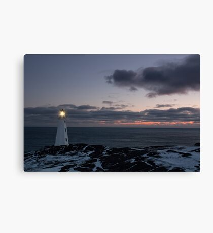 Sunrise at Cape Spear Canvas Print