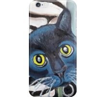 Tux the Shelter Cat iPhone Case/Skin