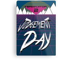 T2: Judgement Day Metal Print