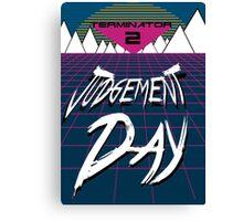 T2: Judgement Day Canvas Print