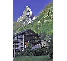 The Matterhorn, Zermatt, Switzerland. Photographic Print