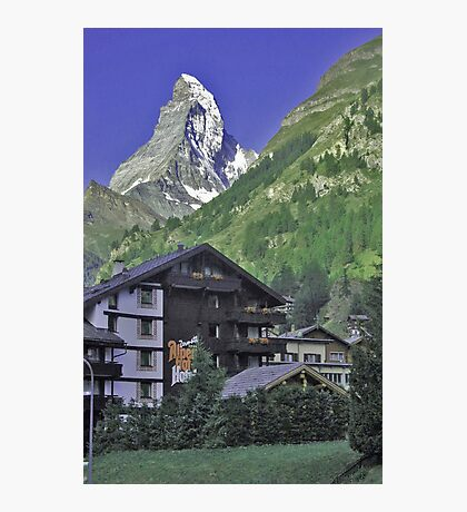 The Matterhorn, Zermatt, Switzerland. Photographic Print