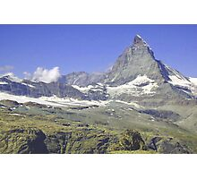 Matterhorn, Zermatt, Switzerland Photographic Print