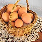Eggs in a Basket by © Betty E Duncan ~ Blue Mountain Blessings Photography