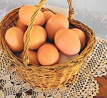 Eggs in a Basket by Betty  Town Duncan