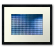 Caged Colors Framed Print