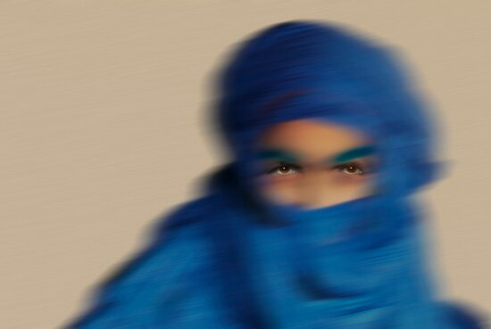 Blue man, North Africa by Carol and Mike Werner