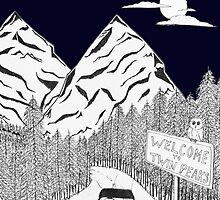 The Road to Twin Peaks by BeyondThePale7