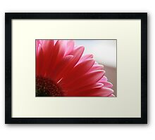 And The Time Is Framed Print
