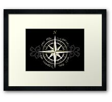 Not all those who wander are lost - J.R.R Tolkien Framed Print