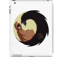 Take A Walk With Me iPad Case/Skin