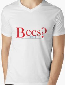 Bees? Presidential Campaign Mens V-Neck T-Shirt