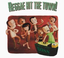 Reggae hit The Town! Kids Clothes