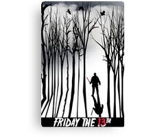 Friday in the Forest Canvas Print