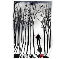 Friday in the Forest Poster