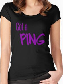 Ping Women's Fitted Scoop T-Shirt