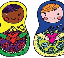 Love Russian Dolls - All by Colleen Hernandez