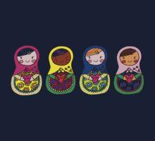 Love Russian Dolls - All Kids Tee