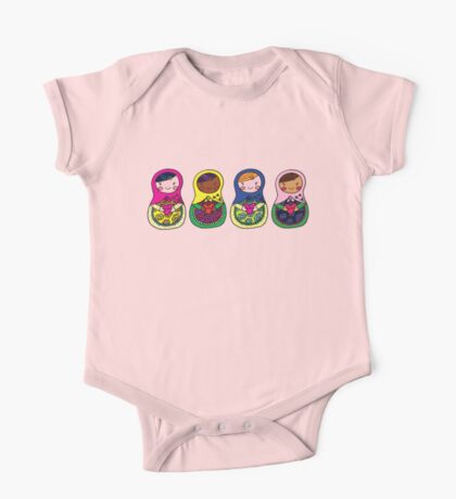 Love Russian Dolls - All One Piece - Short Sleeve
