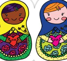 Love Russian Dolls - All Sticker
