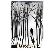 Halloween in the Frorest Poster