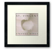 Strange Mercy- St. Vincent Framed Print