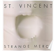 Strange Mercy- St. Vincent Poster