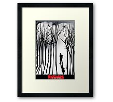 Nightmare in the Forest Framed Print