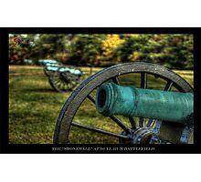 The Stone Wall - Gettysburg PA Photographic Print