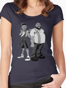 The Fresh Prince and Uncle Phil Women's Fitted Scoop T-Shirt