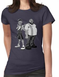 The Fresh Prince and Uncle Phil Womens Fitted T-Shirt