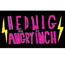 Hedwig and the Angry Inch (Pink Logo/Lightning Bolts) Photographic Print
