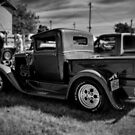 1930 Ford Model A Pick-up - B&W by PhotosByHealy