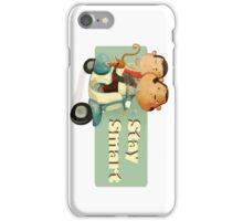 Stay Smart Scooter Monkeys iPhone Case/Skin