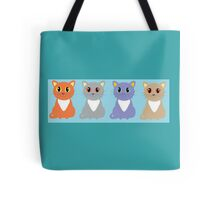 Only Four Cats Tote Bag